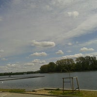 Photo taken at Jezioro Chełmżyńskie by Agnieszka B. on 5/3/2014