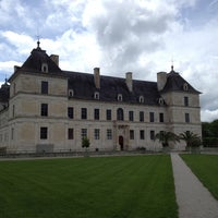 Photo taken at Chateau D'ancy Le Franc by Nathalie J. on 5/9/2013