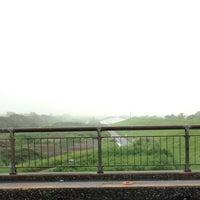 Photo taken at 羽根倉橋 by Puju R. on 7/24/2013