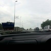 Photo taken at Jambatan Tun Abdul Rahman Ya'akub by Fahmi I. on 5/20/2014