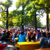 Photo taken at Königlicher Hirschgarten by Philipp W. on 9/16/2012