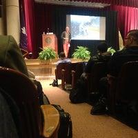 Photo taken at NYU Law | Vanderbilt Hall by Tarun N. on 4/11/2013