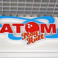 Снимок сделан в Развлекательный боулинг-центр «АТОМ» пользователем Yana P. 10/10/2012