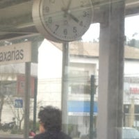Photo taken at Estação Ferroviária de Caxarias by Eujinn H. on 12/24/2012