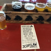 Photo taken at Scofflaw Brewing Co. by Jim C. on 1/19/2018