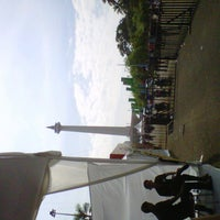 Photo taken at Monas Booth Indosat Jakarta Monorail by Sonya Fresh T. on 6/23/2013