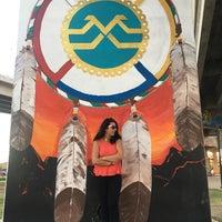 Photo taken at Chicano Park by Ayşegül A. on 11/14/2016