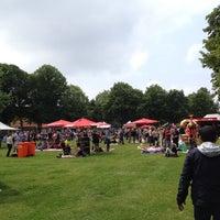 Photo taken at Wilhelminaveld by Femke d. on 5/29/2014