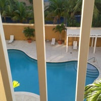 Photo taken at Courtyard by Marriott Miami Aventura Mall by Dean H. on 12/22/2012