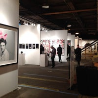 Photo taken at Scope New York by Karrie on 3/6/2014
