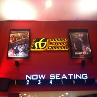 Photo taken at Golden Screen Cinemas (GSC) by Hasyim B. on 2/27/2013