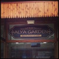 Das Foto wurde bei Alya Garden Restaurant Cafe von Mehmet A. am 2/8/2013 aufgenommen