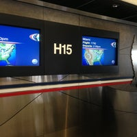 Photo taken at Gate H15 by Dmitry U. on 3/26/2013