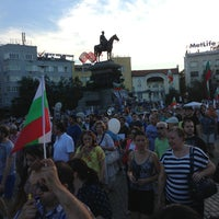 6/19/2013 tarihinde Dobziyaretçi tarafından пл. Народно събрание (Narodno sabranie Sq.)'de çekilen fotoğraf