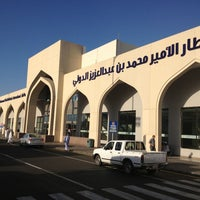 Photo taken at Prince Mohammad Bin Abdulaziz International Airport (MED) by Mehmet Y. on 3/6/2013