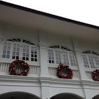 Photo taken at Capella Singapore by MsBonVivantSG on 12/12/2012