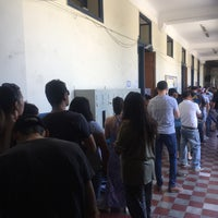 Photo taken at Escuela Salvador Sanfuentes D-88 by Eve on 11/19/2017