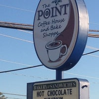 Photo taken at The Point Coffee & Bake Shop by Raife B. on 10/14/2012