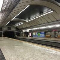 Photo taken at Metro Olivais [VM] by João S. on 4/6/2013