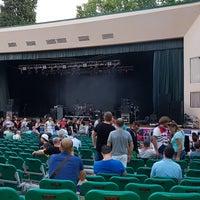 Photo taken at Зеленый Театр / Green Theatre by Ilya M. on 7/26/2017