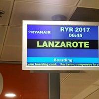 Photo taken at FR2017 Madrid-Lanzarote / Ryanair by Ilya M. on 4/3/2017