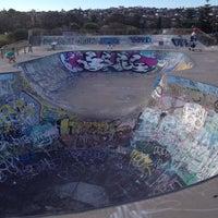 Photo taken at Maroubra Skate Park by Anna B. on 12/18/2013