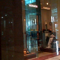 Photo taken at Hermès by Haerawati A. on 1/3/2013