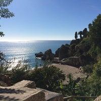 Photo taken at Playa Carebeillo by Eline ✨. on 11/18/2016