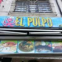 Photo taken at el pulpo by Juan Sebastián C. on 7/14/2013