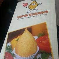 Foto tirada no(a) Santa Coxinha por Cristiane P. em 1/19/2013