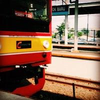 Photo taken at Stasiun Depok Baru by Erlita P. on 6/1/2015