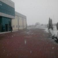 Photo taken at NUR Tekstil San. ve Tic. A.Ş. by Muzaffer Mert A. on 12/12/2013