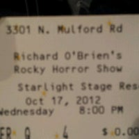 Photo taken at Star Light Theater by Erica H. on 10/18/2012
