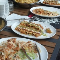 Photo taken at Zocalo Mexican Kitchen & Cantina by Amrit B. on 7/26/2013