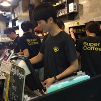Photo taken at Super Coffee by bbo k. on 7/28/2015