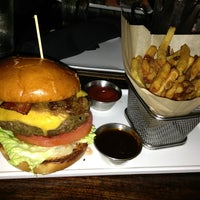 Photo taken at ROK:BRGR by Brian on 1/22/2013