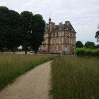Photo taken at Chateau de la Trousse by Eduard P. on 6/1/2014