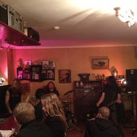 Photo taken at Cafe Leningrad by Renārs V. on 11/24/2012