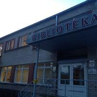 Photo taken at Ogres Centrālā bibliotēka by Janis Z. on 3/21/2013