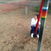 Photo taken at Tredegar Park by Chloe P. on 9/10/2013