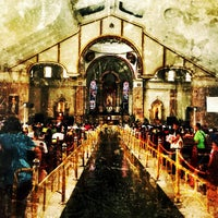 Photo taken at Minor Basilica of the Black Nazarene (Quiapo Church) by Abby A. on 2/14/2013