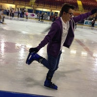 Photo taken at Ice Arena Wales by Thomas A. on 8/26/2015