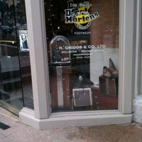 Photo taken at Dr. Martens by Jim D. on 12/26/2012