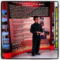 Photo taken at Kolej Kemahiran Tinggi Mara, Beranang, Selangor by sufyaan f. on 9/30/2012
