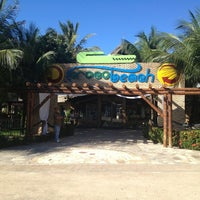 Photo taken at Crocobeach by Luciano R. on 7/23/2013