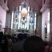 Photo taken at Templo De San Antonio by Erik  on 2/14/2013