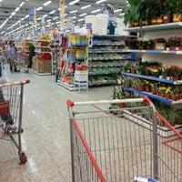 Photo taken at Supermercados Guanabara by Panico C. on 10/26/2012