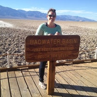 Photo taken at Badwater Basin by Connie W. on 11/19/2012