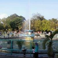 Photo taken at Alun-Alun Kota Malang by Arfian S. on 9/29/2012