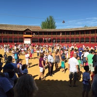 Photo taken at Plaza De Toros by manelok on 8/26/2015